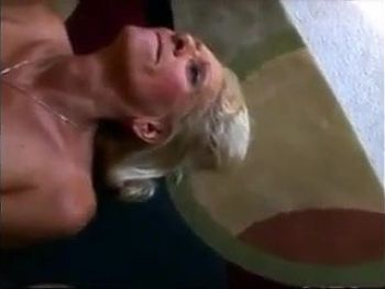 Very hot and horny granny fucking with her boytoy