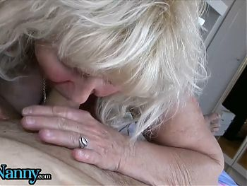 Younger Couple Serves Old Sluts