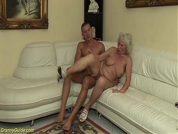 77 year old mom has rough sex